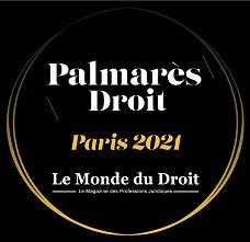 Visuel  Palmarès du Droit 2021